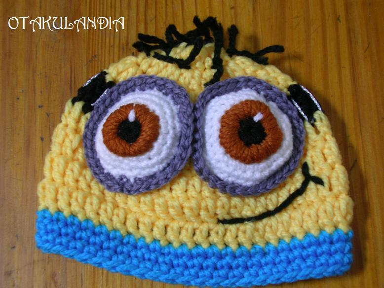 Gorros Minions en Crochet ¡adorables!  35f92e8c6c3