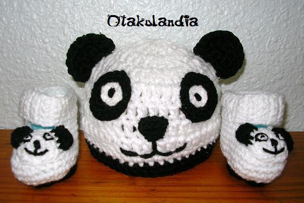 055ee29842763 Gorro Panda Crochet Gorros De Oso Panda Crochet Imagui