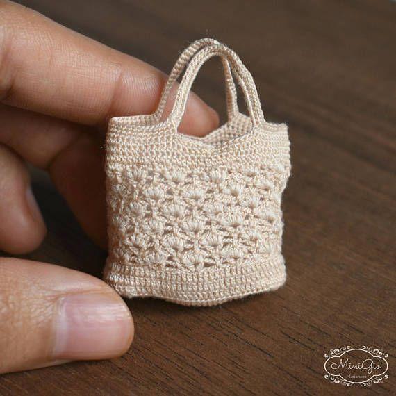 a4f7b14bd 13 Mini Bolsos de Dulce en Crochet!!   Otakulandia.es