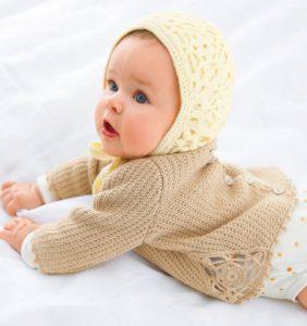 12 Chaquetitas para tu Bebé Dulces como el caramelo 😍