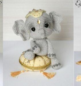 Elefantito Amigurumi, el mejor Amigo de tu Bebé 😍