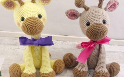 JIRAFA AMIGURUMI PERSONALIZABLE ( Bebé, crochet, ganchillo, muñeco ... | 272x436