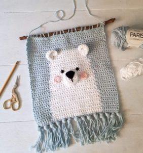 Osito Polar, decora el cuarto de tu Bebé ❄