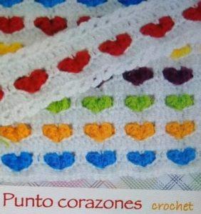 7 Bellísimos Puntos de Crochet