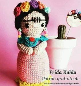 Frida – Patrón Amigurumi