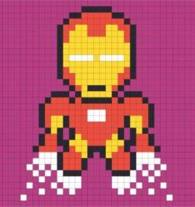 13 Superhéroes para tus Mantitas