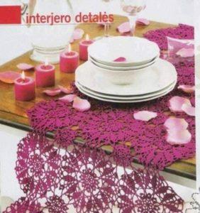 Top 30 Patrones de Carpetas o Tapetes de Mesa /1