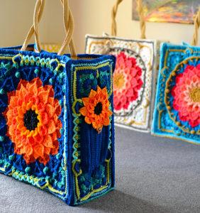Bolsos Mandala en Crochet ¡¡ Impresionantes !!