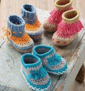 Botitas y mocasines indios para tu bebé