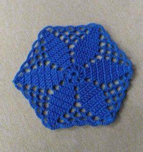 Una estrella hexagonal y 1/2