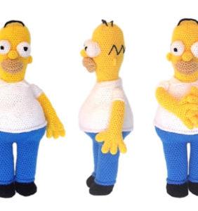 Homer Simpson, patrón en castellano
