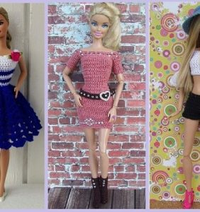 Barbie 37 crochet street look