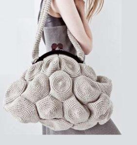 40 Bolsos grandes de crochet, moda 2019