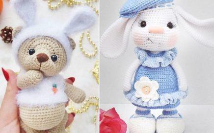 Conejo Crochet Amigurumi Peluche Muñeco Infantil Bebe - $ 500,00 ... | 272x436