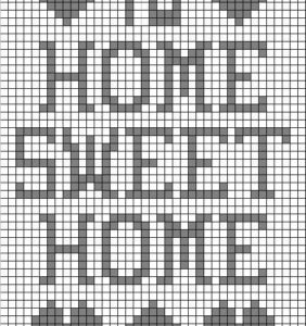 50 Diagramas para Filet crochet