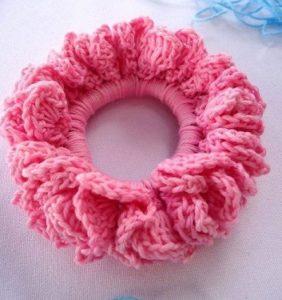 Coletero romántico crochet – foto tutorial