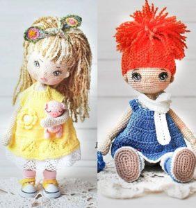 110 Muñequitas nuevas y divinas en crochet /5