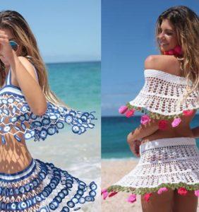 Transparencias a tope, la moda del verano