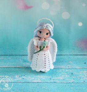Colección 120 ángeles divinos en crochet /1