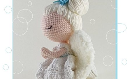 Angelito Ángel Amigurumi Tejido A Crochet Llavero - $ 65.00 en Mercado Libre   272x436