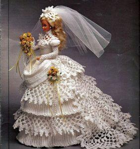 27 Vestidos para la boda de Barbie