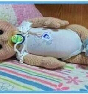 Bebé realista George – patrón en castellano