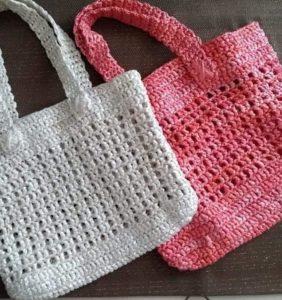 Reciclando bolsas de plástico gracias al crochet