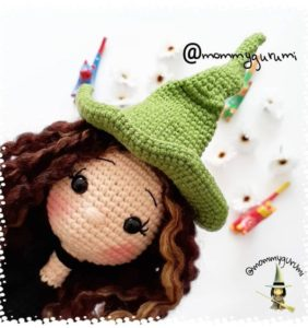 50 Brujitas y sus cositas, hechas de crochet /1