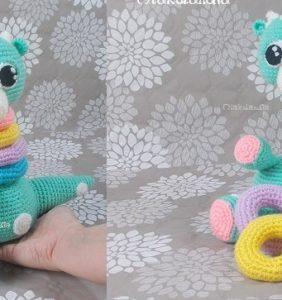 Dinosaurio Samy cuello largo – Juguete para bebés