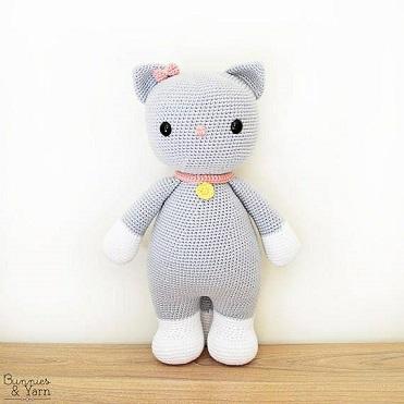 Ravelry: Big Hello Kitty pattern by Ella.D Design | 371x371