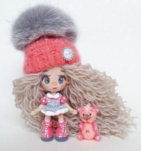 42 Mini muñequitas amigurumi que nos robaron el corazón
