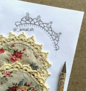 Colección de puntillas y bordes en crochet /1