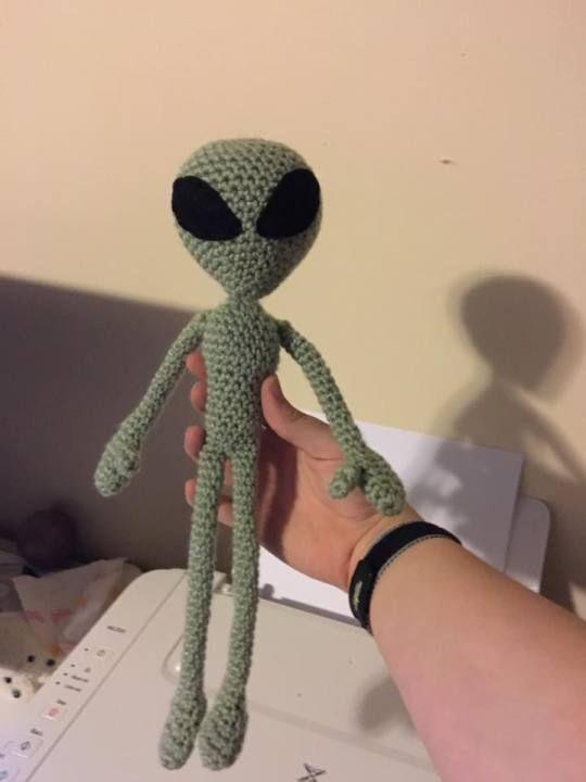 Braida, la Alienígena Peluquera (Aliens III) - Galamigurumis ... | 720x540