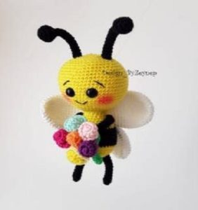 25 Abejitas recolectoras de miel ¡para comérselas a besitos!