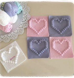 Tejiendo corazones en 3D para los amores de tu vida
