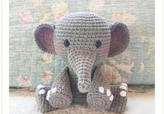 Amigurumi Elefante - Ideias e tutoriais | 380x545