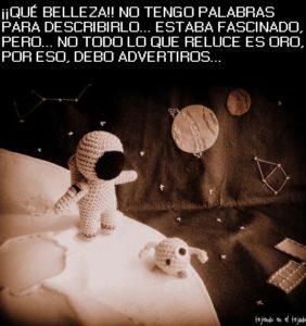 ¡¡ El Espacio es muy peligroso !! (contado por un astronauta)