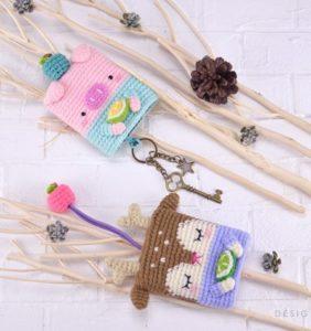 Cubre Llaves Kawaii hechos en crochet ¡algo nuevo y de moda!