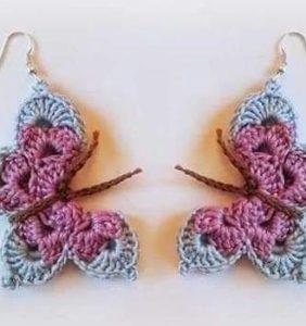 Hoy haremos unos pendientes con mariposas en 3D
