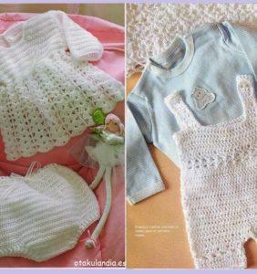 10 Ideas maravillosas para regalar a un bebé con patrones
