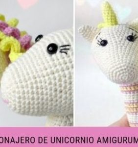Unicornio sonajero – patrón en castellano