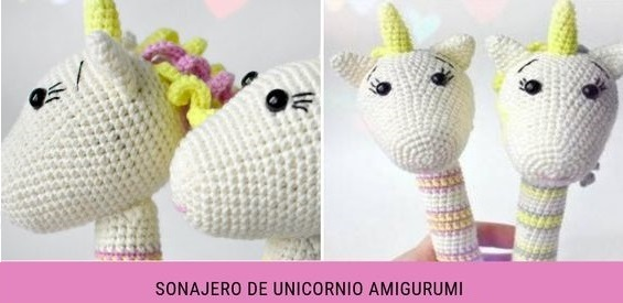 Patrón Broche Unicornio Amigurumi | Crochet amigurumi patrones ... | 275x565