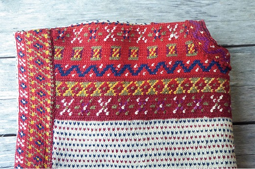 Suéter Korsnas hecho en 1880
