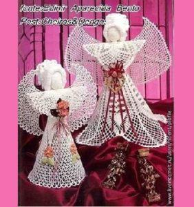 11 Preciosísimos ángeles para decorar tu Navidad