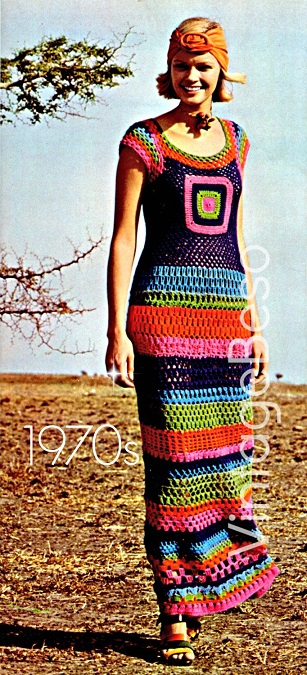 Moda hippie crochet
