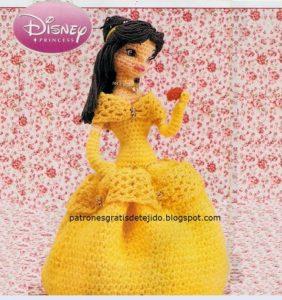 Bella, la princesa – patrón castellano