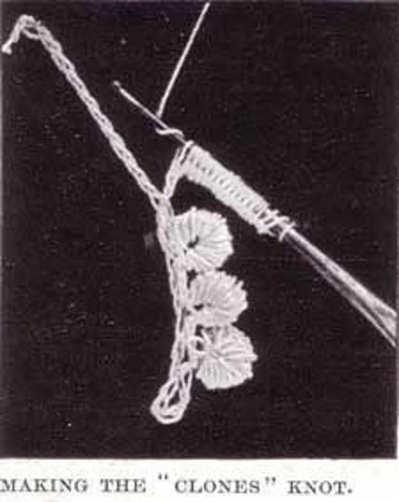 Patrón crochet básico antiguo
