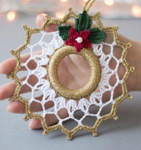 Mini coronitas de Navidad ¡no las compres, hazlas tú!