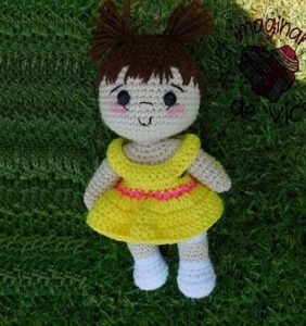 PROYECTO NAVIDAD: Alondra, una muñequita para tu nena