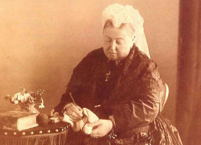 La reina Victoria de Inglaterra amaba el crochet